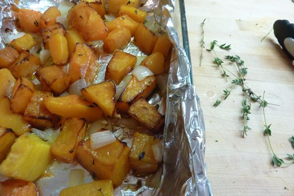 Pasta with Roasted Butternut Squash | Recipes - Main Dishes | Pintere ...