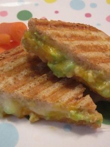 Two Cheese Avocado Grilled Sandwich | Weelicious