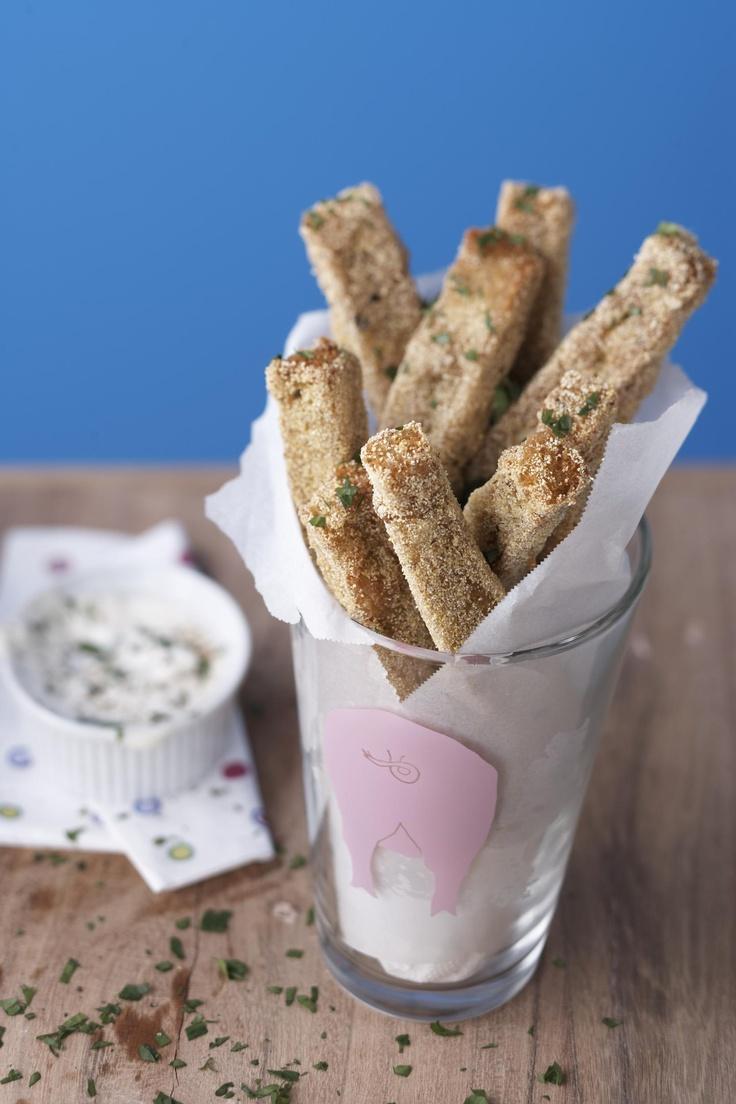 Herbed Polenta Fries | Ask me how I made it. | Pinterest