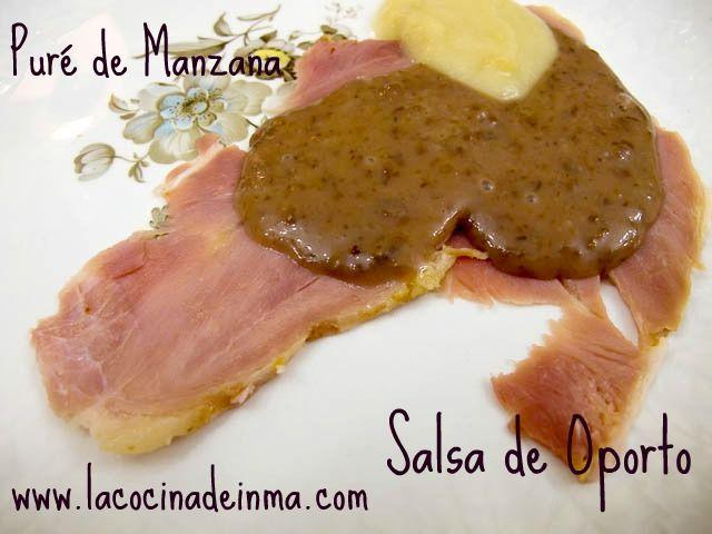 Salsa de Oporto y Puré de Manzanas