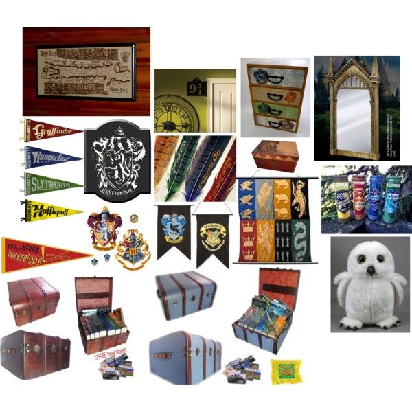 Harry potter room decor ideas all things harry pinterest for Room decor harry potter