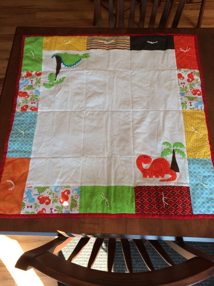Dinosaur Baby Quilt Baby Quilt Ideas Pinterest