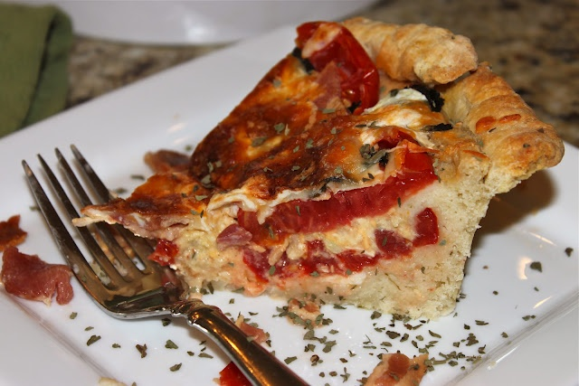 Tomato Pie with Biscuit Crust | Can't Wait to Try It! | Pinterest