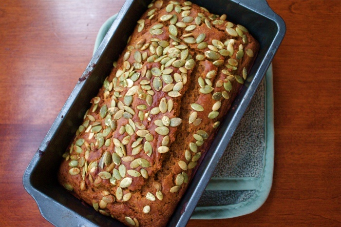 Olive Oil Pumpkin Bread | Orange Spice | Pinterest