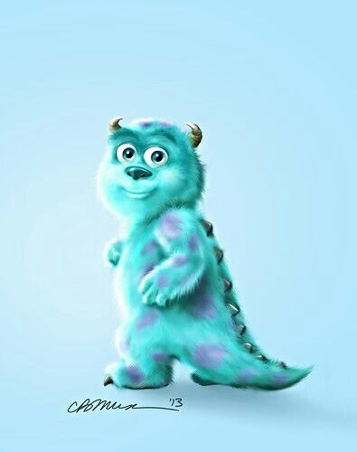 Baby sully | Sully | Pinterest Monsters University Baby Sully