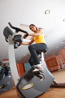 How to lose weight on the stationary bike