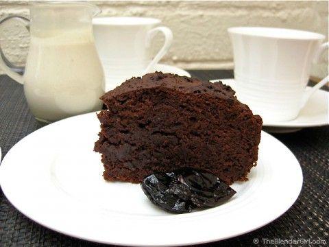 Gluten-Free Chocolate Cake Recipe | Chocolate Prune Cake | Healthy ...