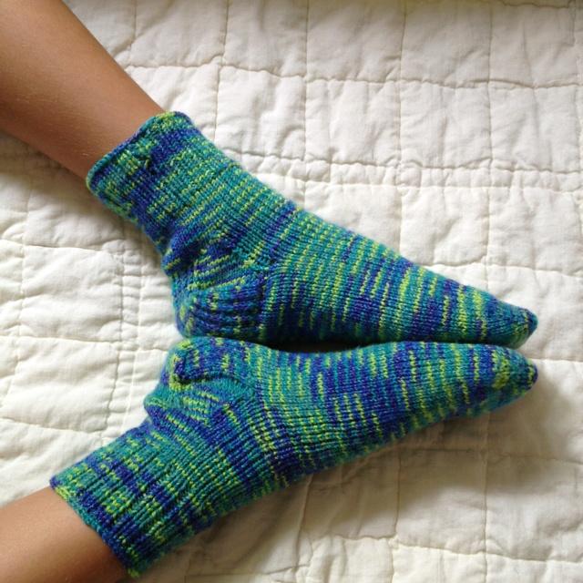 Toe up socks Knitting Socks Pinterest