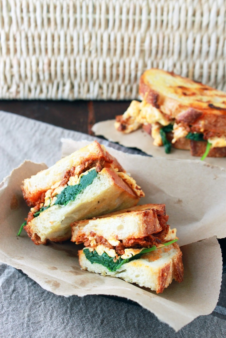 Breakfast Panini | Make me a Sandwich | Pinterest