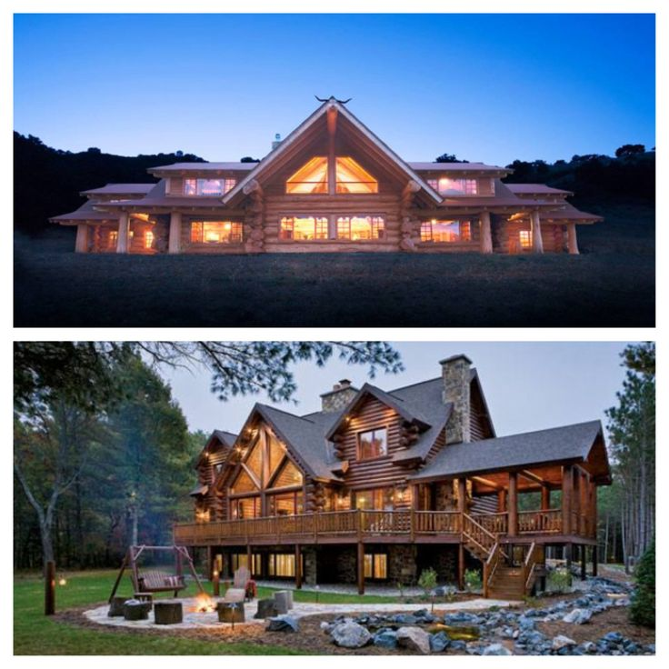 Some Beautiful Dream Log Cabin Homes Dream Home Pinterest
