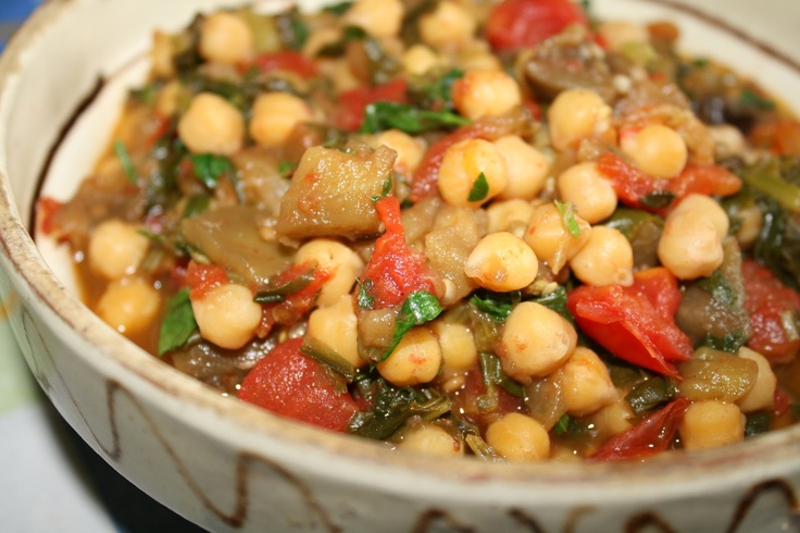 Chickpea and Vegetable Stew   Diet and Recipes   Pinterest