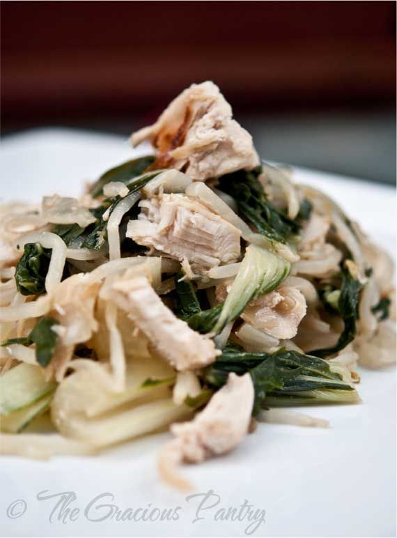 Clean Eating Chicken Bok Choy,,use almond or other tree nut butter ...