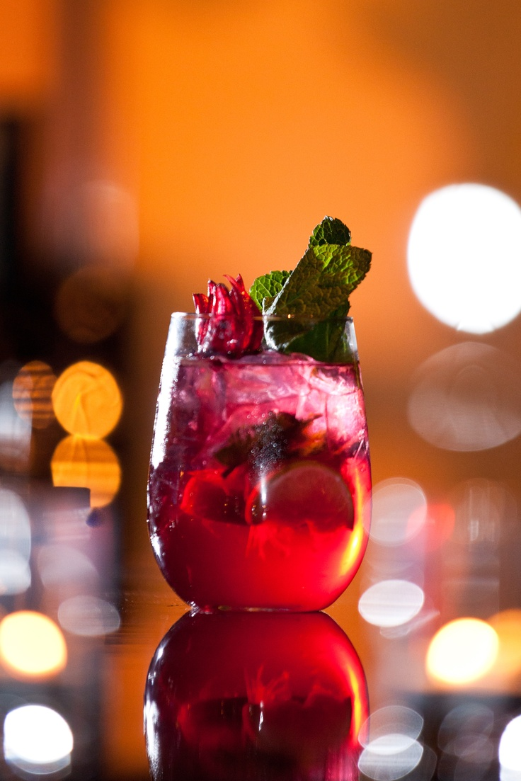 Wild Hibiscus Mojito! Made with Bacardi Light Rum, Hibiscus, Mint ...