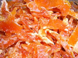 candied citrus peel | Camp consumables | Pinterest