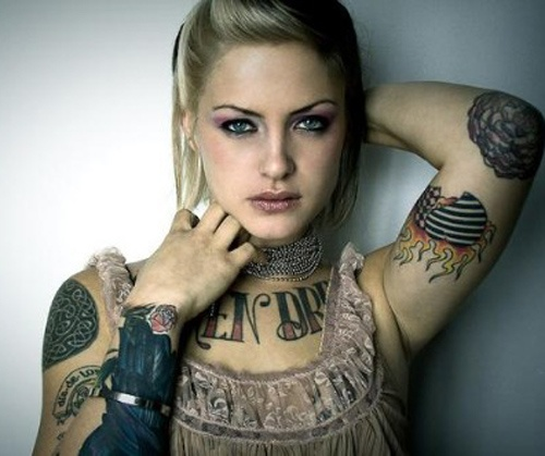 Elbow Tattoo Ideas for Women