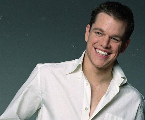 Matt Damon- fuaaaaaaaa... Matt Damon