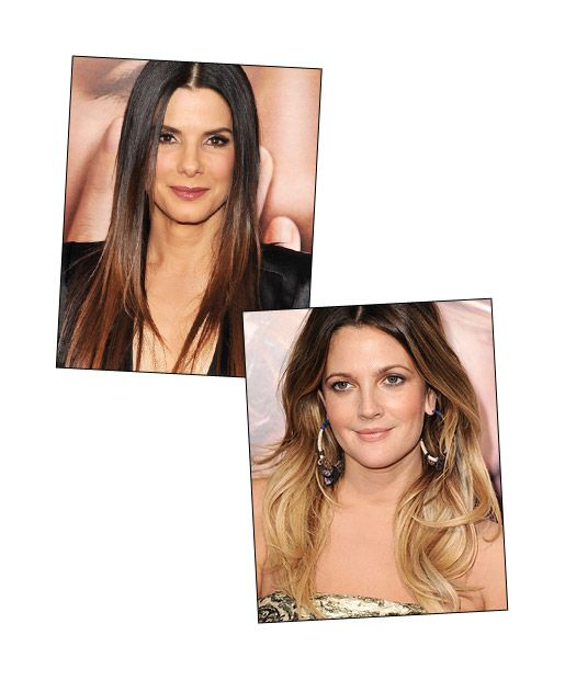... hair with caramel highlights blonde partial highlights vs full