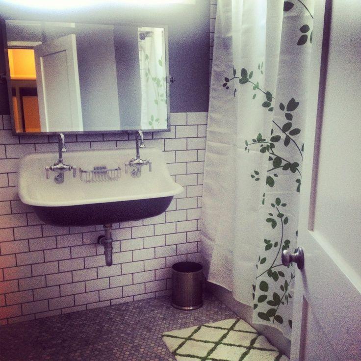 Kohler Brockway Sink : brockway kohler New bathroom #kohler #brockway #sink #subway #tile # ...