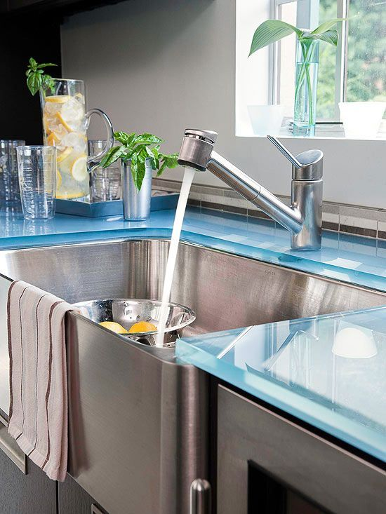 Deep-Bowl Sinks Until you use a deep-bowl sink, its hard to imagine ...
