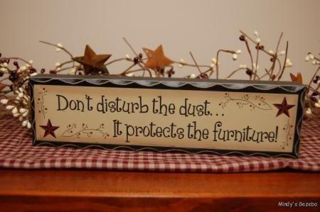 Dust Plaque....Love it :)