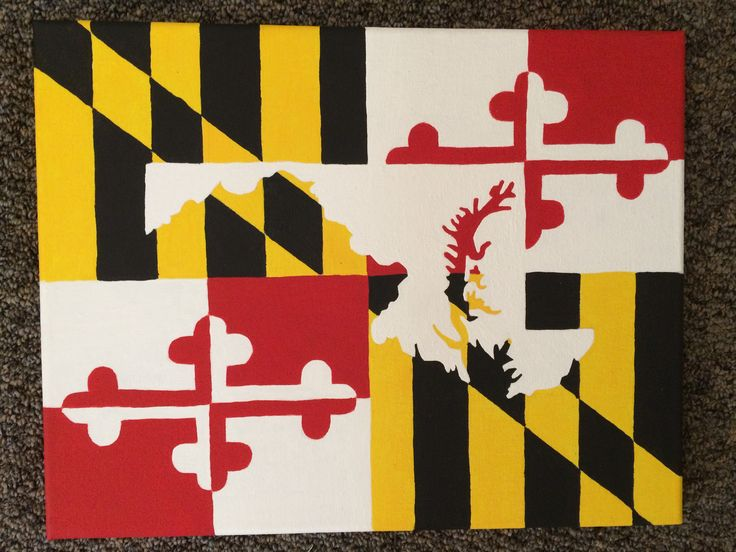 state of maryland flag