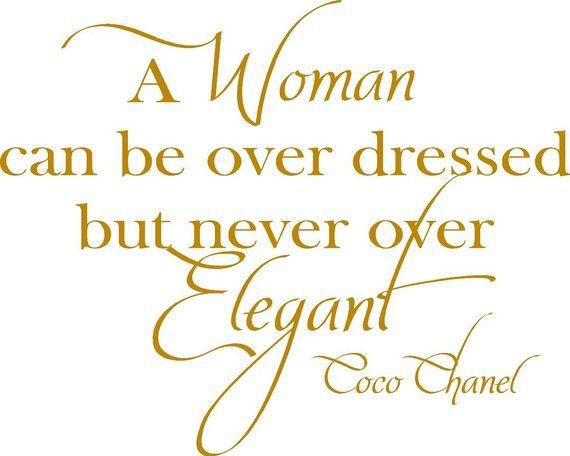 Chanel Elegance Quotes Quotesgram