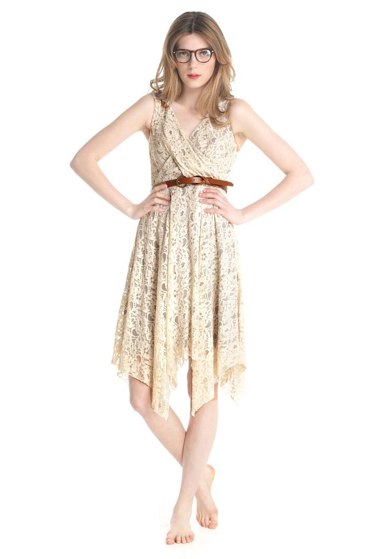 Thoroughly modern millie jagged edge dress