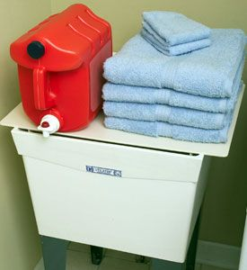 Utility sink cover A Clean House Pinterest