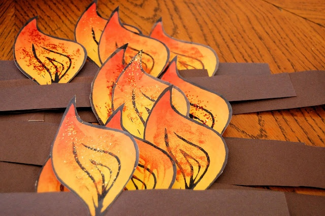 Pentecost Headband Craft