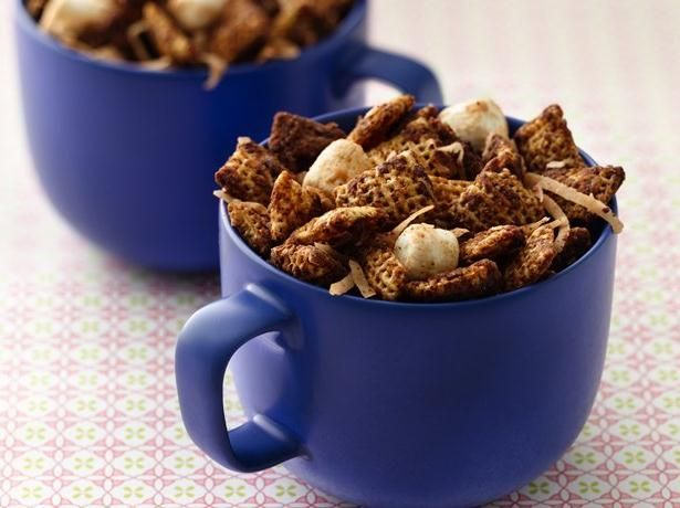 HOT CHOCOLATE CHEX MIX - 2 cups Vanilla Chex® cereal 2 cups Chocolate ...