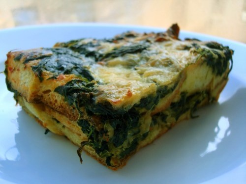 Spinach Strata | food to try | Pinterest