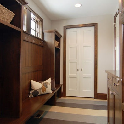 Dark wood trim w white doors living room pinterest for Wood doors with white trim pictures