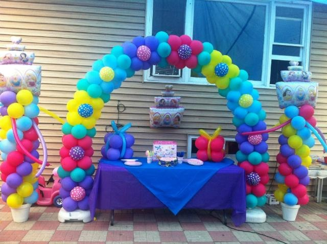 Pin by zephyr solutions on balloon arch column kits for Balloon arch decoration kit