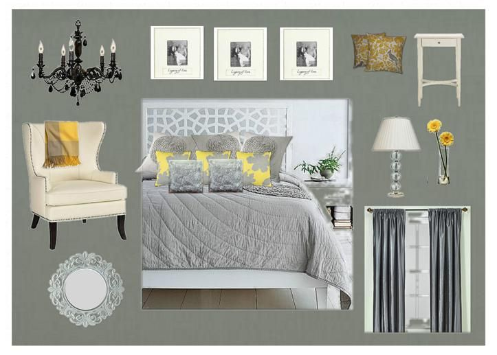 gray and yellow decorating ideas pinterest