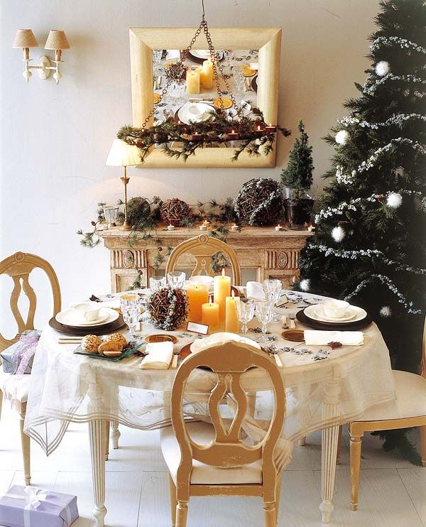 christmas-table-decoration-ideas31,like vthe fireplace mantel