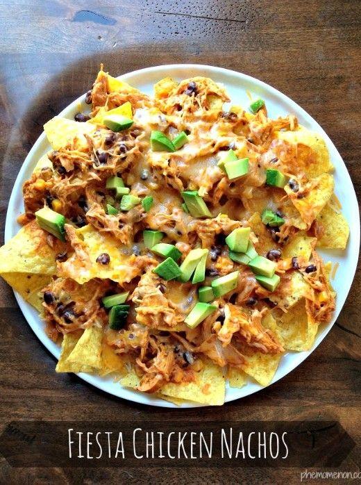 Chicken Nachos Recipe