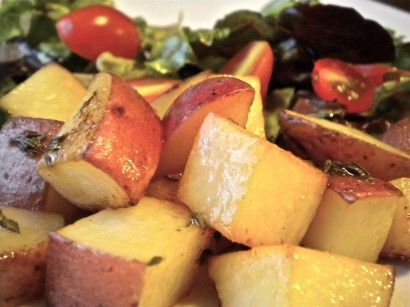 Red Potato Croutons | Recipe