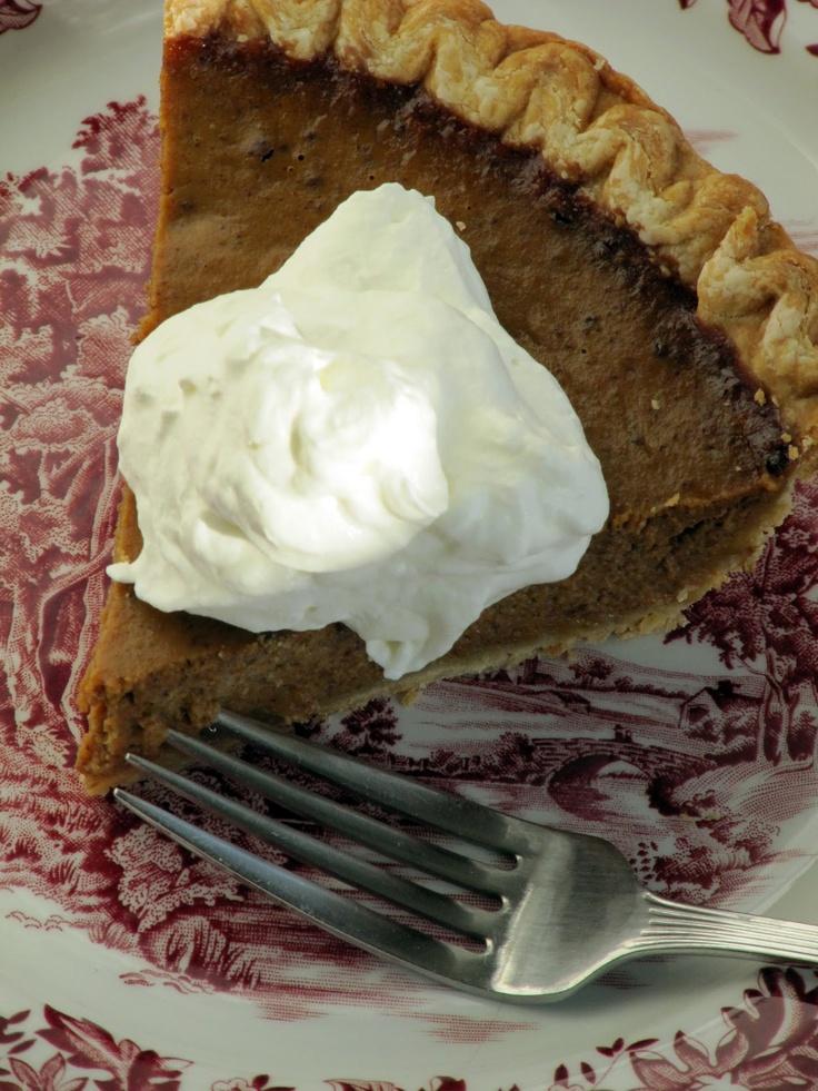 Chocolate Pumpkin Pie recipe | Pumpkin Goods | Pinterest