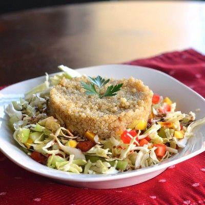 Quinoa Mango Cabbage Salad | Recipes to Cook | Pinterest