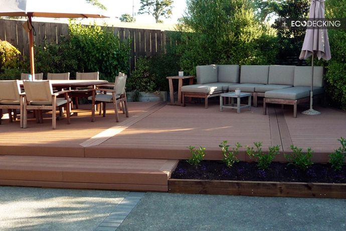 Nice Backyard Decks : diy deck install outdoor space gallery deck decking ideas designs