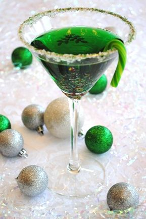 Green Appletini STEP 1:Using a martini shaker fill with ice, add 2 oz ...