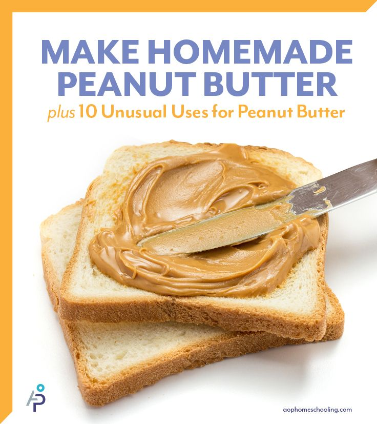 Homemade Peanut Butter | Dips-Sauces-Spreads-Butters-Dressings-Vinaig ...