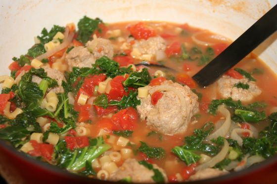 Light & Healthy Italian Wedding Soup | Soups, cooking board. | Pinter ...