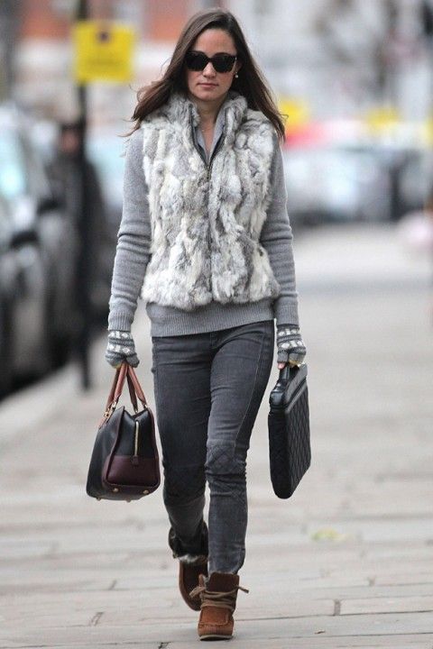 Celebrity Winter Style Via Marie Claire Uk What To Wear Pinterest