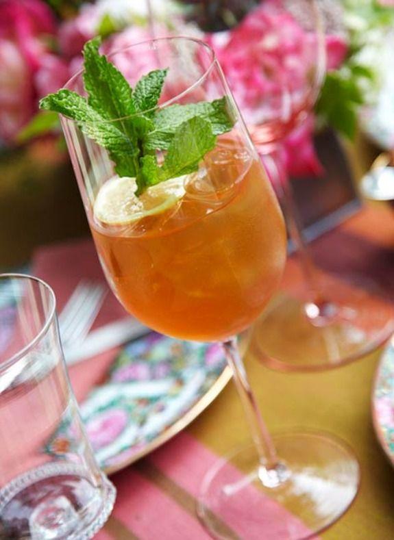 Sweet Lucy Bourbon Mint Tea | Delicious! | Pinterest