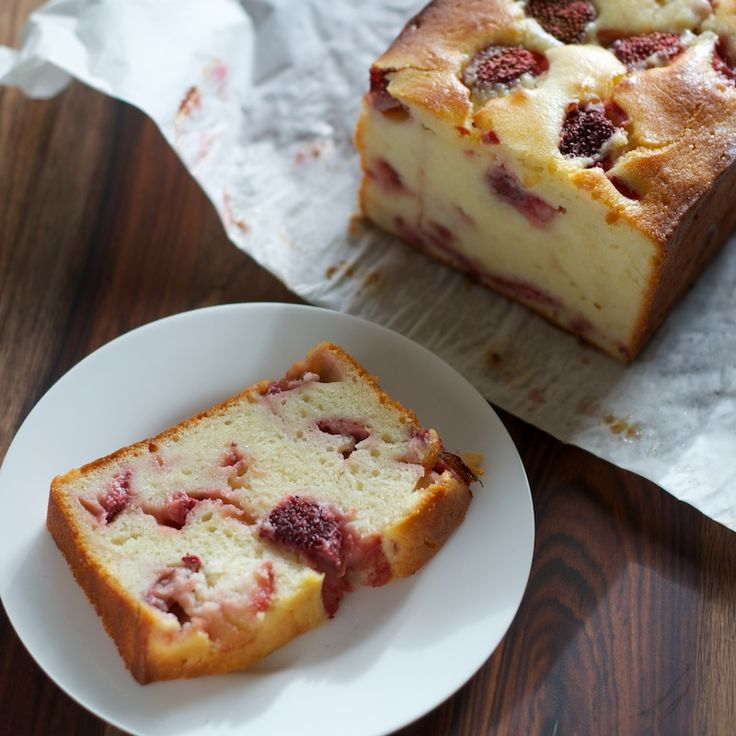 Strawberry Loaf Cake — Pixels + Crumbs | Cake | Pinterest