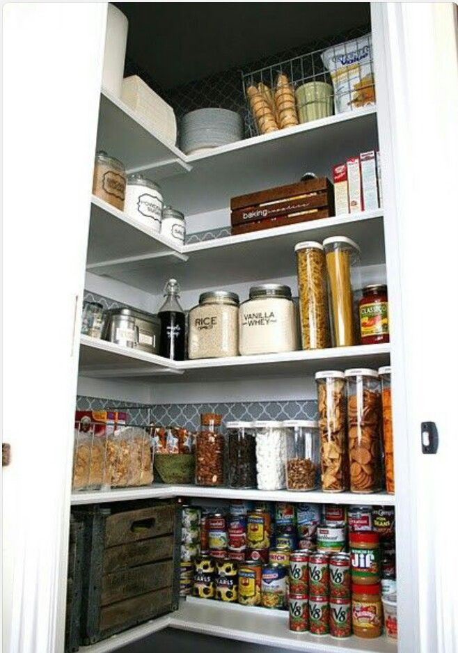 organized pantry storage ideas pinterest