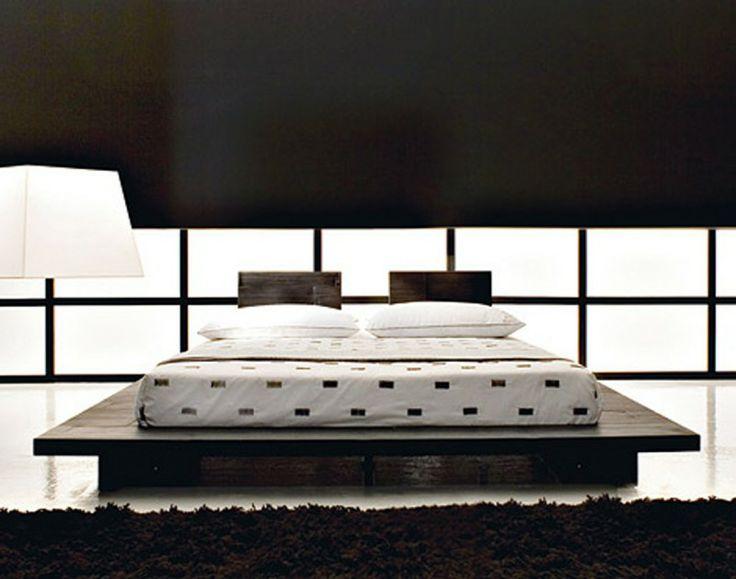 Japanese Platform Storage Bed | Dojo's Tatami and Shinshitsu | Pinter…