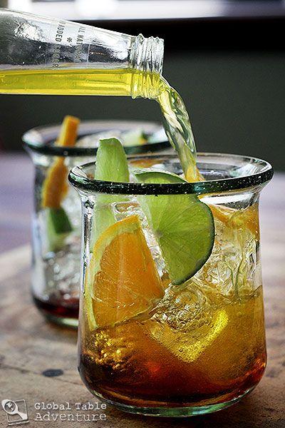 Nigerian Chapman Cocktail Recipe — Dishmaps