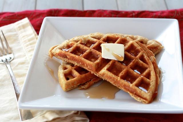 whole grain waffle | Breakfast Recipes | Pinterest
